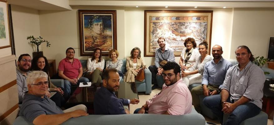 Visit of the co-Head of the ALF Hellenic Network in Rhodes on 30-31 October 2019.