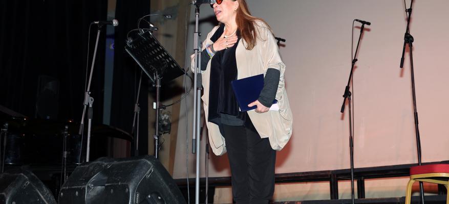 Λίνα Νικολακοπούλου (φωτογραφία εκδήλωσης)