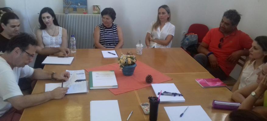 Εργαστήριο δημιουργικής γραφής με τον Γιάννη Τσιτσίμη στο ΔΚΣΜΡ